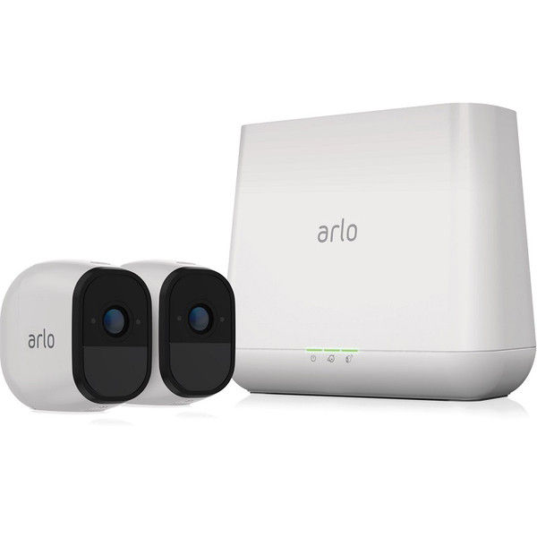 NETGEAR Arlo Pro ネットワークカメラ(ベースステーション+カメラ2台セット) VMS4230-100JPS 1台  (直送品)
