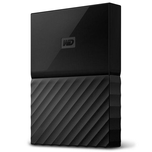 ポータブルストレージ 「My Passport」(2016年発売モデル) 1TB ブラック WDBYNN0010BBK-WESN  (直送品)