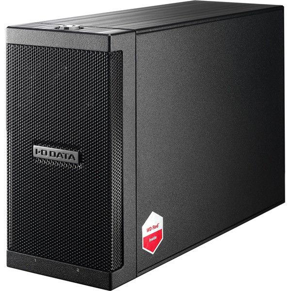 アイ・オー・データ機器 長期保証&保守サポート対応 カートリッジ式2ドライブ外付ハードディスク 8TB ZHD2-UTX8 1台(直送品)