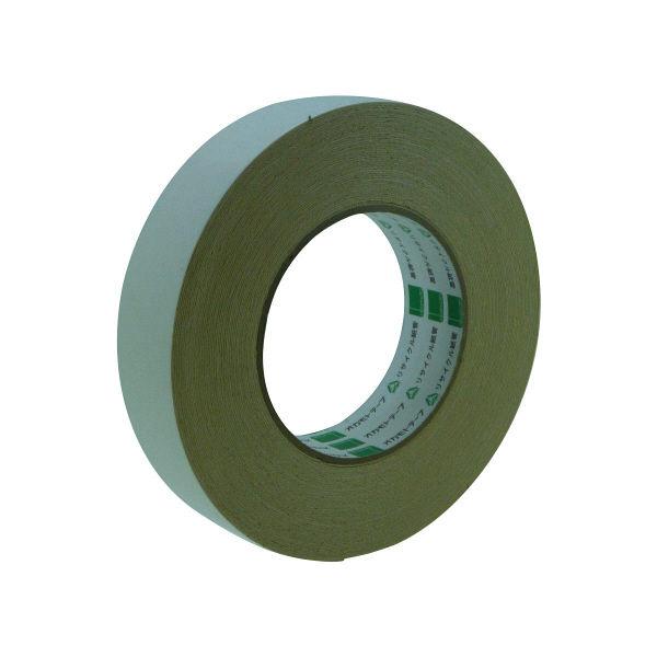 オカモト 布両面テープ 25mm×15m 541-N 60巻 (直送品)