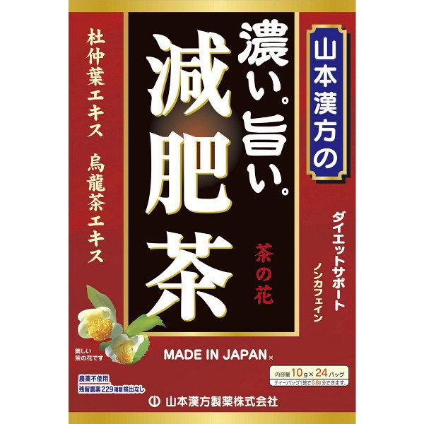 山本漢方製薬 濃い旨い減肥茶24包×2箱