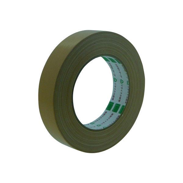 オカモト 布テープ養生用 25mm×25m クリーム 117 60巻 (直送品)