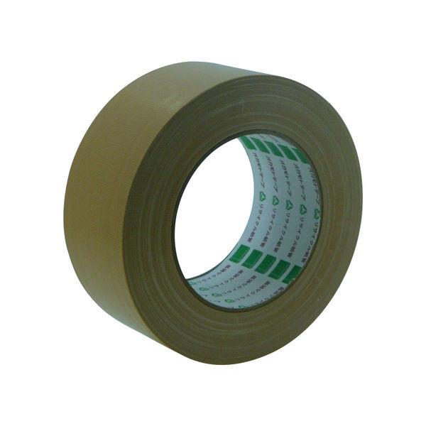 オカモト 布テープ養生用 50mm×25m クリーム 117 30巻 (直送品)