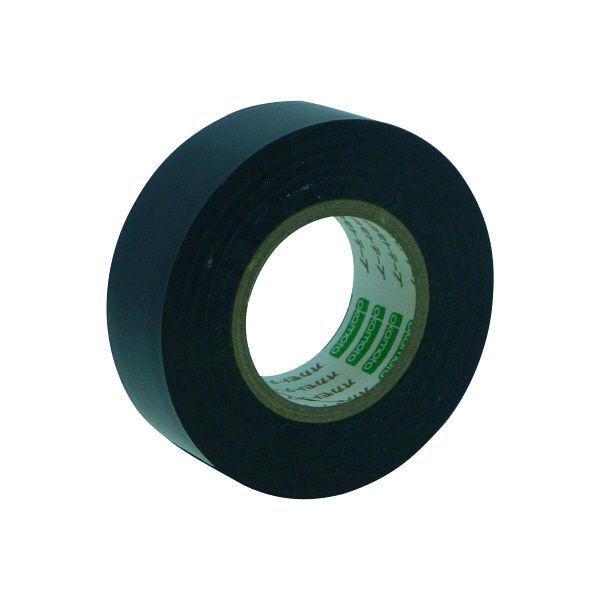 オカモト ビニールテープ 19mm×10m 黒 470 300巻 (直送品)