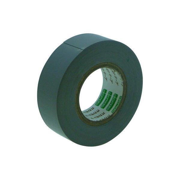 オカモト ビニールテープ 19mm×10m 灰 470 300巻 (直送品)