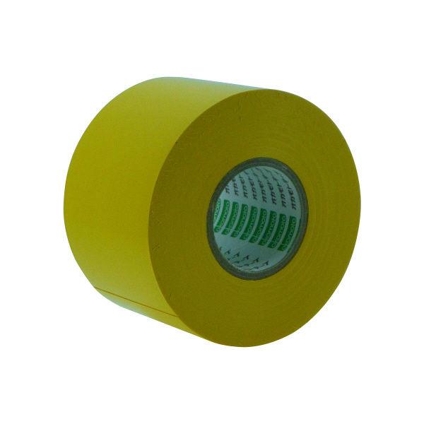 オカモト ビニールテープ 50mm×20m 黄 470 80巻 (直送品)
