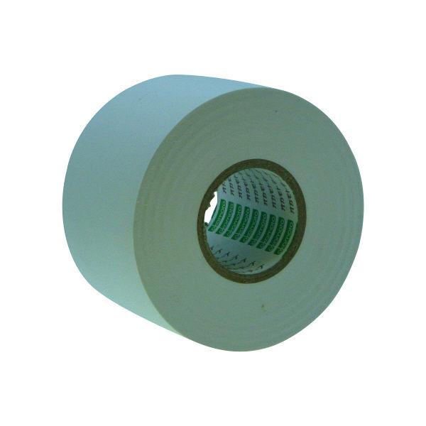 オカモト ビニールテープ 50mm×20m 白 470 80巻 (直送品)