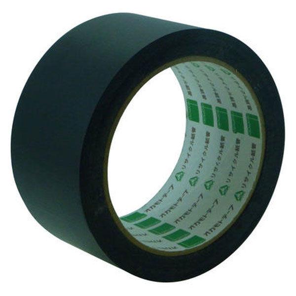 オカモト アクリル気密防水テープ(片面) 50mm×20m 黒 AS-02 30巻 (直送品)