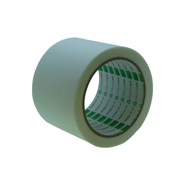 オカモト アクリル気密防水テープ(片面) 100mm×20m 白 AS-03 18巻 (直送品)