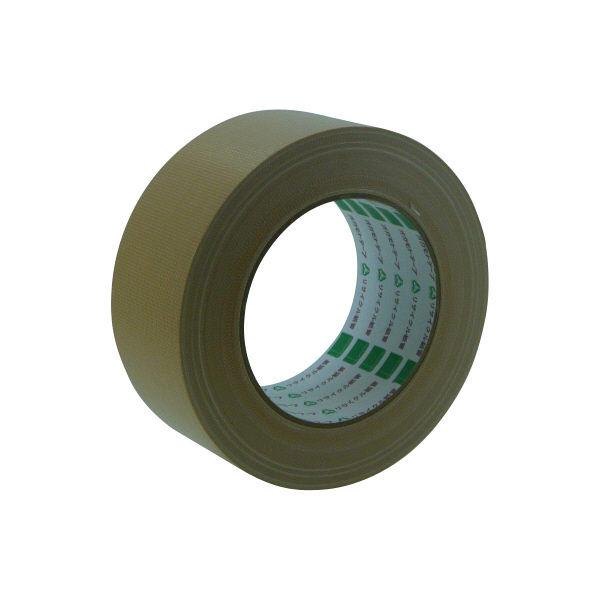 オカモト 布テープ養生用 48mm×25m クリーム YJ-01 30巻 (直送品)