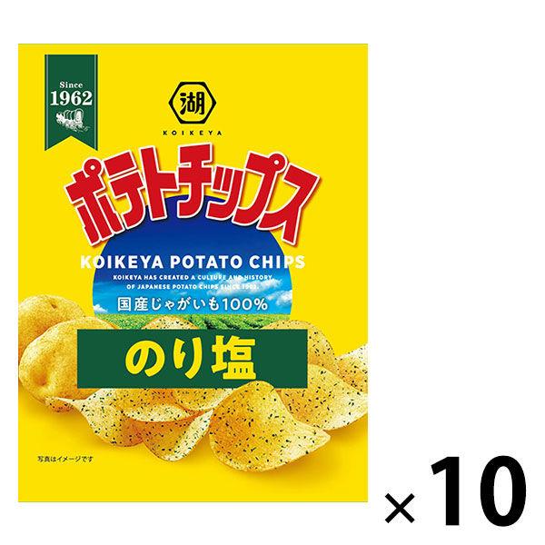 湖池屋 小袋ポテトチップス のり塩10袋