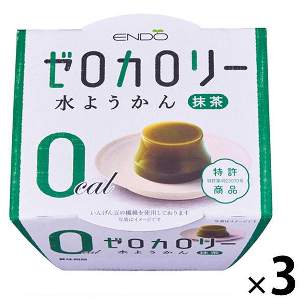 ゼロカロリー水ようかん抹茶 3個