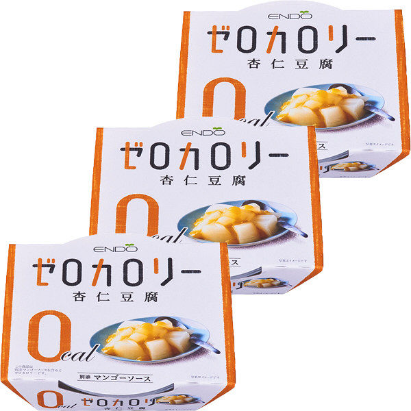 ゼロカロリー杏仁豆腐 108g 3個