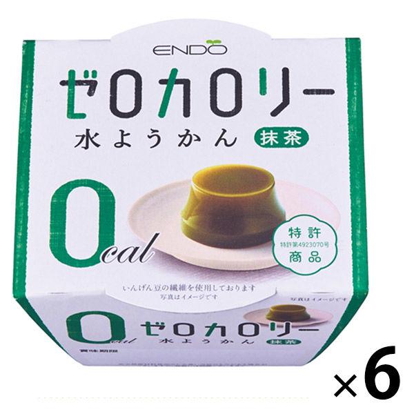 ゼロカロリー水ようかん抹茶 6個