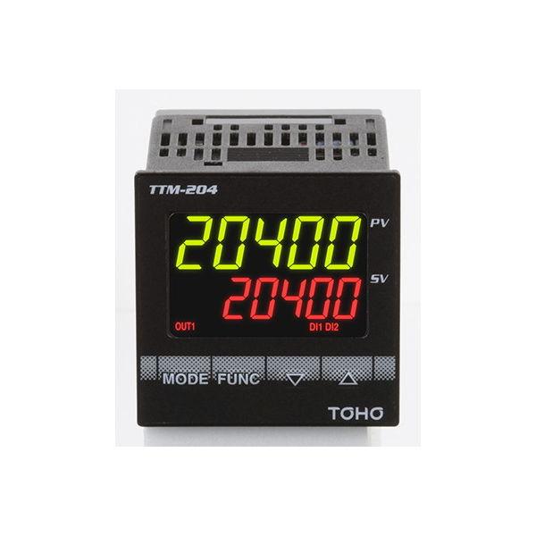 東邦電子 デジタル調節計TTM-200シリーズ リレー接点出力 TTM-204-Q-RN-R 1個 61-9638-18(直送品)