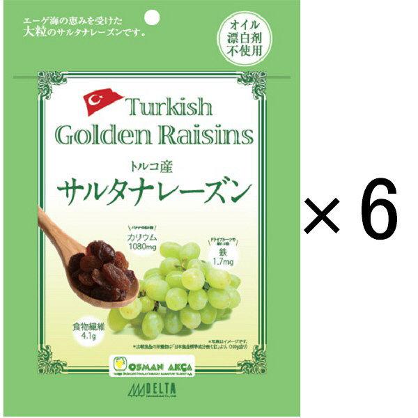 トルコ産サルタナレーズン 6袋