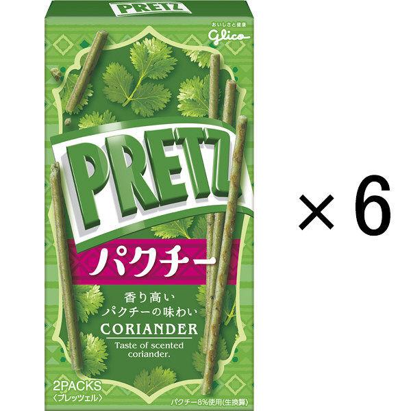 江崎グリコ プリッツ<パクチー> 6箱