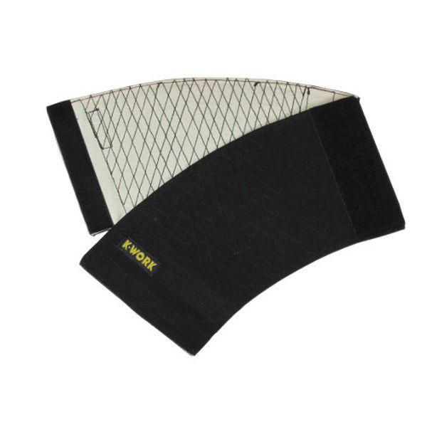 ケイワーク マジック手甲 14cm巾 黒 フリー B60-BK (取寄品)