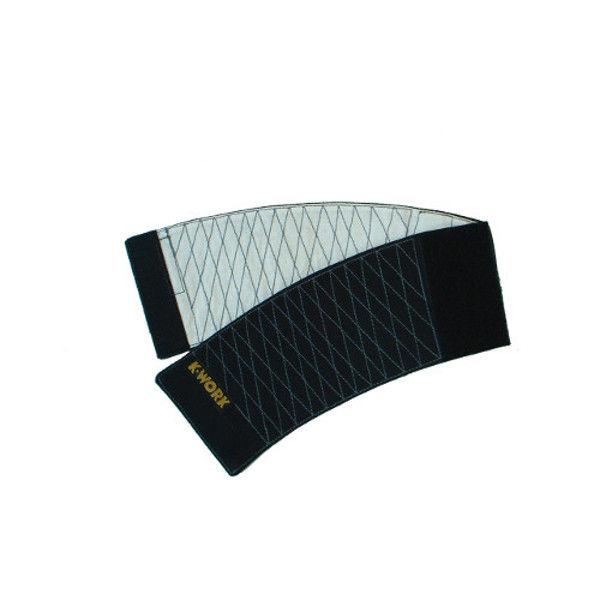 ケイワーク マジック手甲 9cm巾 黒 フリー B6-BK (取寄品)