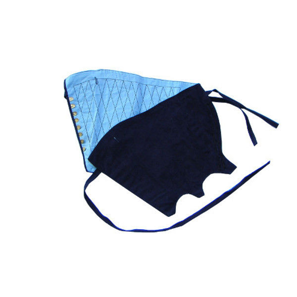 ケイワーク 本藍染脚絆 8枚コハゼ 藍 特々大 K80-AI-JEL (取寄品)
