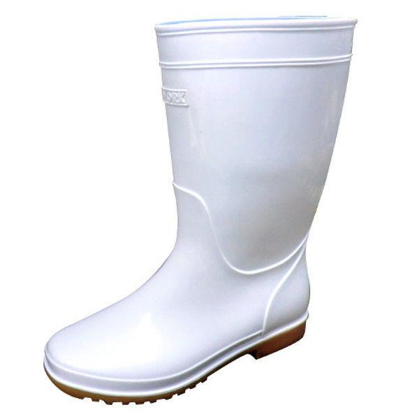 ケイワーク 衛生耐油長靴 白 24.5 KB100-WH-245 (取寄品)