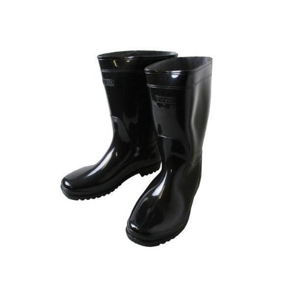 ケイワーク 軽半長靴 黒 25.5 KB10-BK-255 (取寄品)