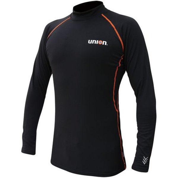 ケイワーク 76ストレッチシャツ(裏起毛) ブラック M N761-BK-M (取寄品)