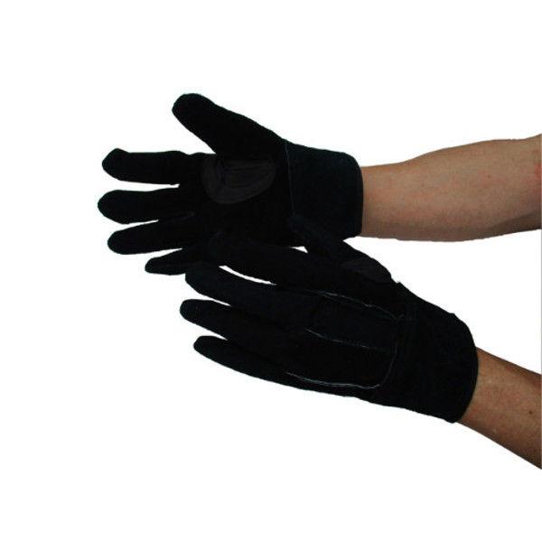 ケイワーク 黒オイル内綿革手 黒 フリー NO449 (取寄品)