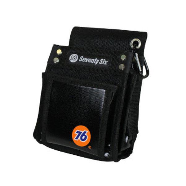 ケイワーク 76小型2段腰袋 ブラック PW7601A (取寄品)