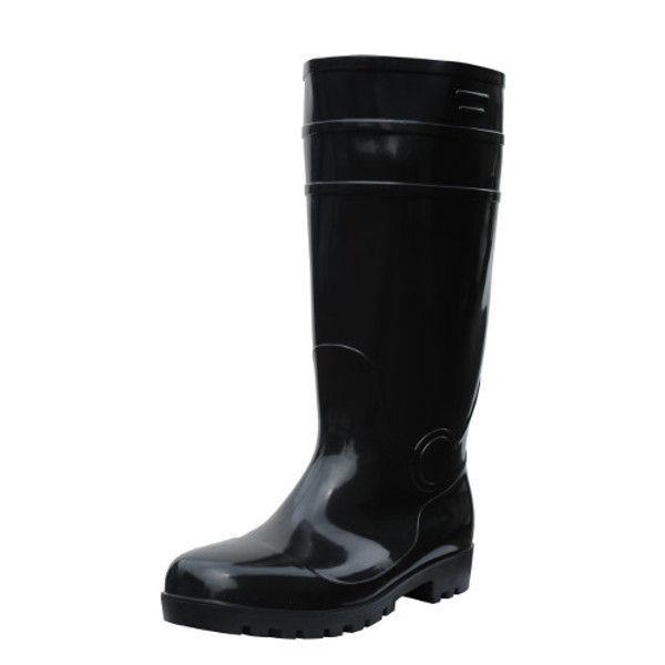 ケイワーク 耐油安全長靴 黒 25.5 SB150-BK-255 (取寄品)