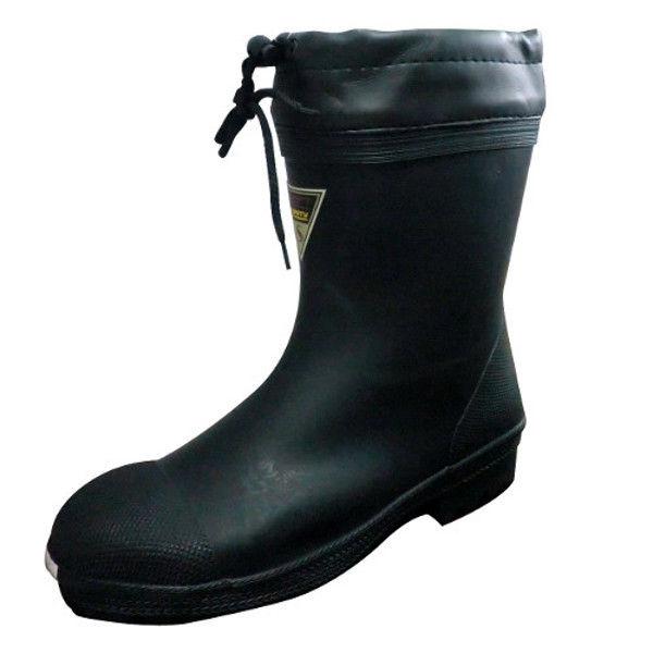 ケイワーク 安全ショートブーツ 黒 L SB15-BK-L (取寄品)