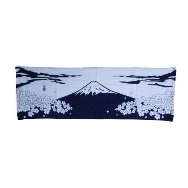 ケイワーク 和風ガーゼロングタオル No.15 富士山 TW120-NO15 (取寄品)