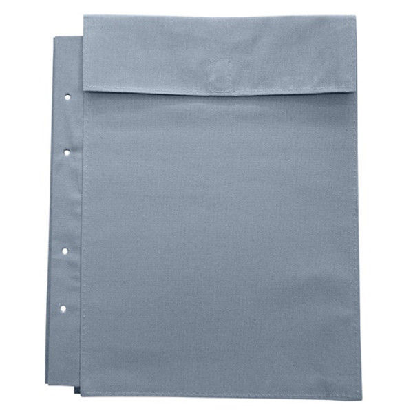 マービー 布図面袋A4収納4穴ハトメ無 マチ3cm 014-0168 2枚 (直送品)