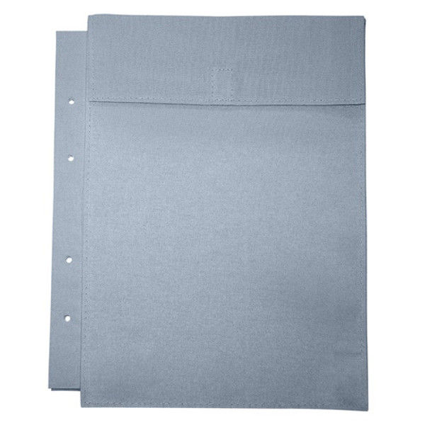 マービー 布図面袋A4規格4穴ハトメ無 マチ5cm 014-0171 2枚 (直送品)