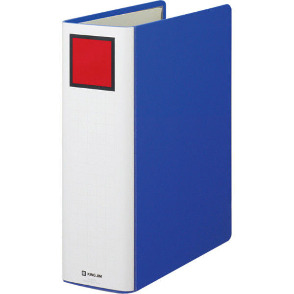 キングジム Sドッチファイル A4S 80mm 青 10冊 1478アオ(10) (直送品)
