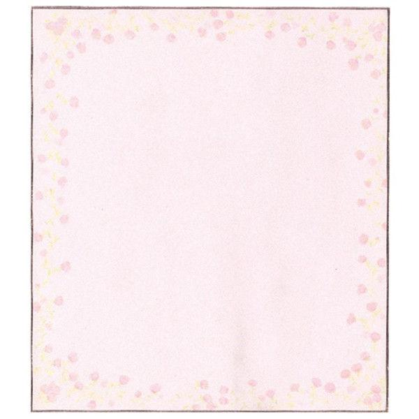 色紙 小花柄ピンク 33122006 5枚 デザインフィル (直送品)