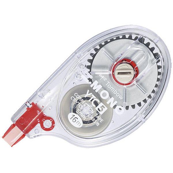 トンボ鉛筆 修正テープ モノYTC 10個 CT-YTC5-10 (直送品)