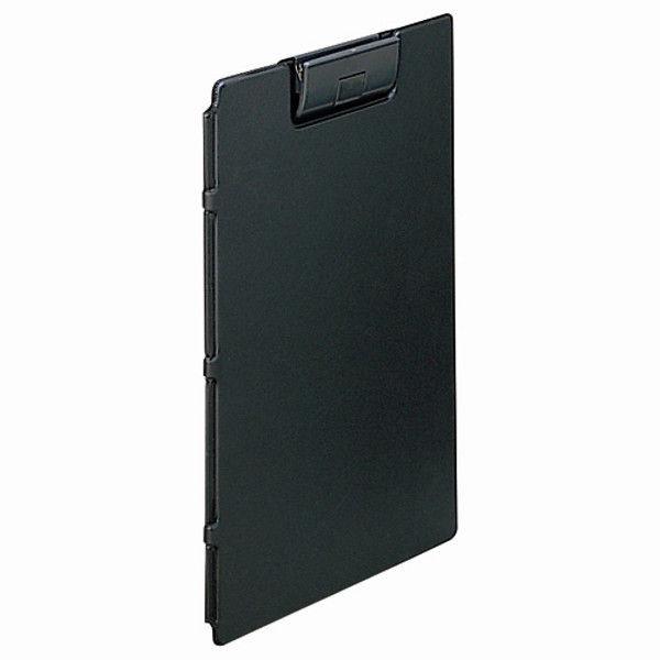 リヒトラブ クリップファイル A4E 黒 10冊 F-2650-24(10) (直送品)