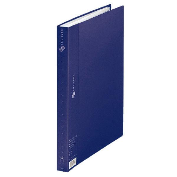 プラス クリアーファイル40P A4S NV 10冊 FC-124EL 1セット (直送品)