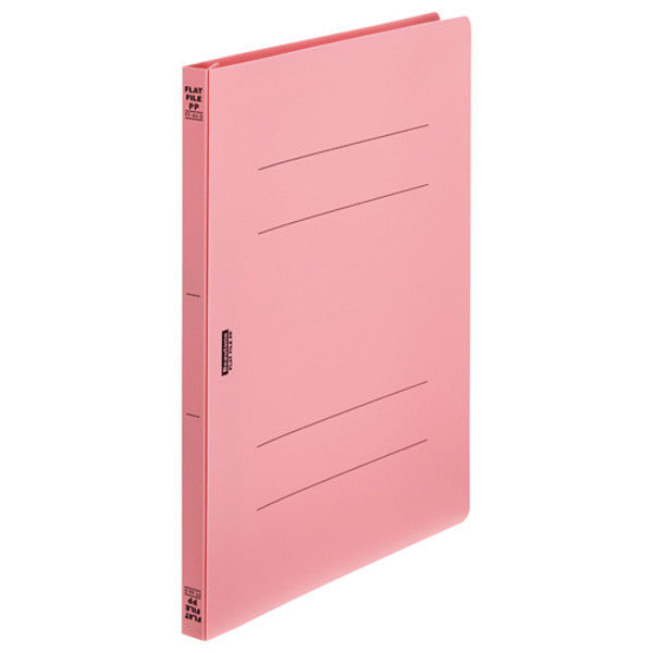 ビュートン フラットファイルPP A4S ピンク FF-A4S-P 5冊 (直送品)
