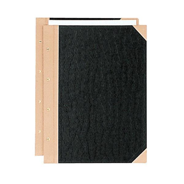プラス とじ込み表紙 B4S 4穴 5組 FL-003TU(5) (直送品)