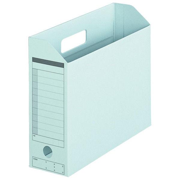プラス ボックスファイル A4E 青 10個 FL-051BF BL (直送品)