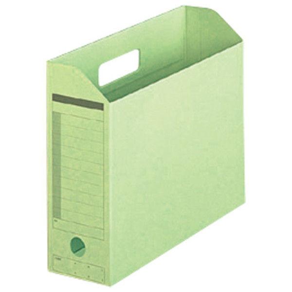 プラス ボックスファイル A4E GR 10個 FL-051BF GR (直送品)