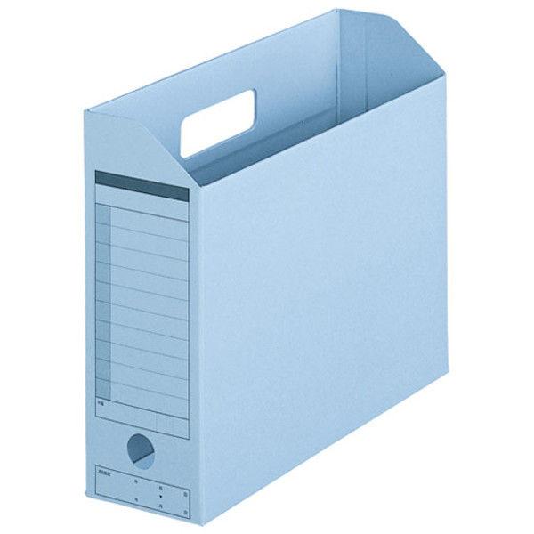 プラス ボックスファイル A4E RBL 10個 FL-051BF RBL (直送品)