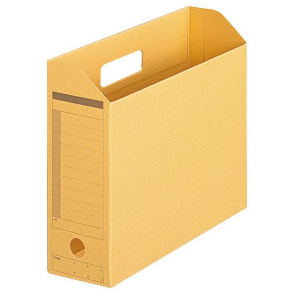 プラス ボックスファイル A4E 黄 10個 FL-051BF YL (直送品)