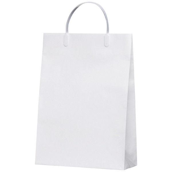 今村紙工 白コーティングバック10枚 KWCB-01 (直送品)