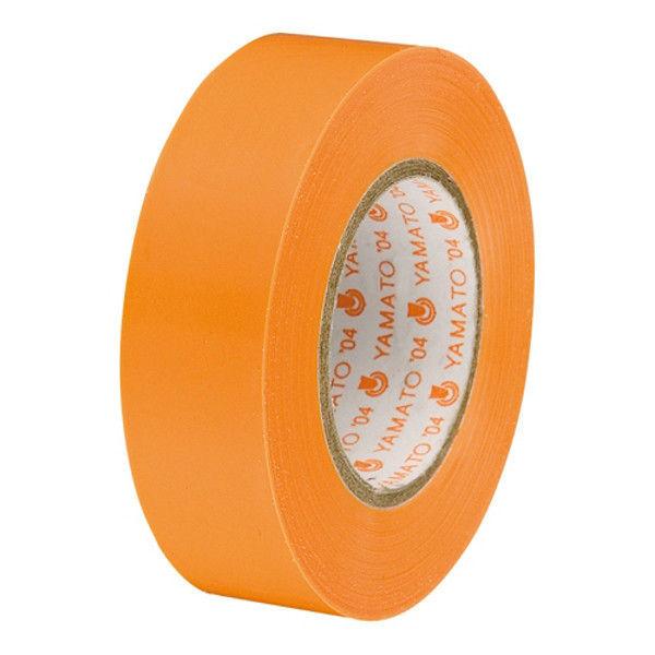 ヤマト ビニールテープ 19mm*10m 橙 10巻 NO200-19-24-10P (直送品)