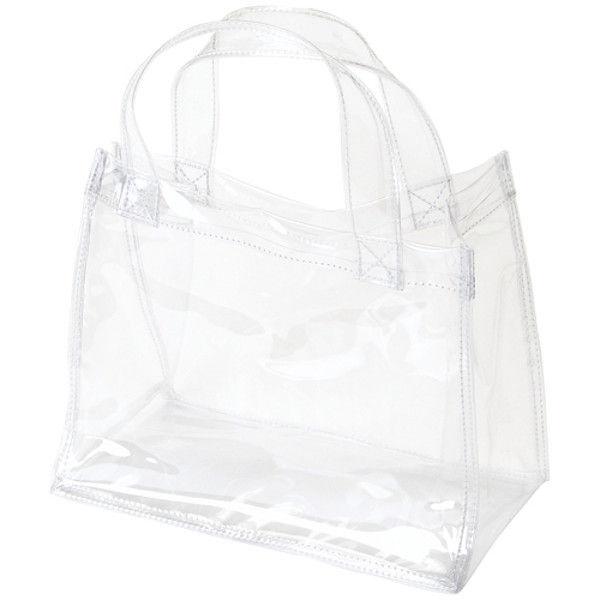 OCSコーポレーション 透明手提バッグ B5 OCS-2520135 2枚 (直送品)