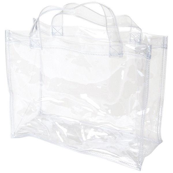 OCSコーポレーション 透明手提バッグ A4 OCS-3225135 2枚 (直送品)