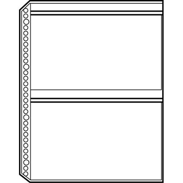 プラス リフィールA4 30穴2P 10枚 RE-143RW-10P 2パック (直送品)